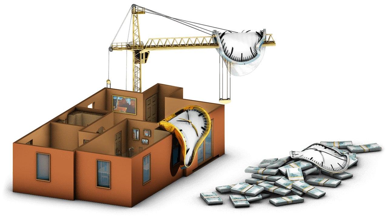 срок строительства дома